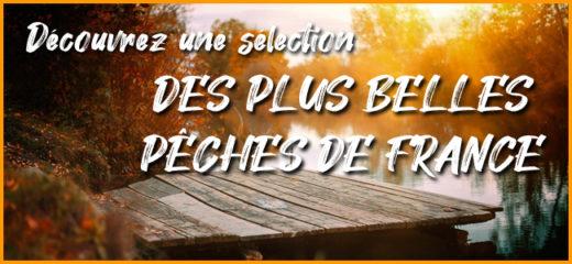 Découvrez une sélection des plus belles pêches de France
